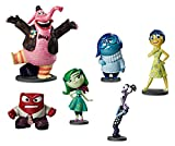 Disney Store Inside Out 6 Piece Figure Play Set: Joy, Sadness, Anger, Fear, Disgust, Bing Bong by Disney
