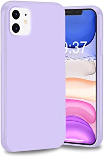 iPhone 11 Case, iPhone 11 6.1 inch Case,FGA Sugar Candy Cute Lightweight Protective Slim Fit Solid Color Flexible Soft TPU Bumper Gel Case Cover for Apple iPhone 11 2019 Released (Lavender)