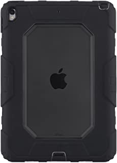 Griffin Survivor All-Terrain iPad Pro 10.5 Case with Stand - Impact-Resistant and Rugged Design, Smoke/Black