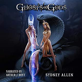 Ghosts of Gods audiobook cover art