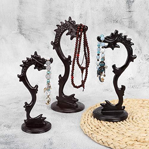 Socobeta Soporte colgante de resina con forma de cabeza de dragón, 3 unidades, para decoración del hogar, decoración para vacaciones, fiestas, decoración (3 unidades de marco de grifo)
