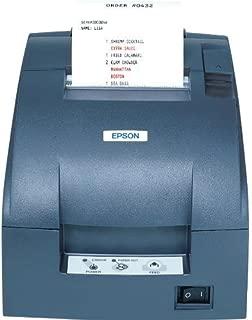 TM-U220B, Impact, two-color printing, 6 lps, Serial interface only, Power supply, Dark gray (Renewed)