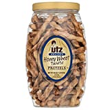 SWEET AND CRUNCHY: Utz Honey Wheat Braided Twist Pretzels are baked with a delectable combo of sweet honey and wholesome wheat in a braided twist shape. A special two-part baking process ensures freshness and crispness for that perfect crunch you cra...