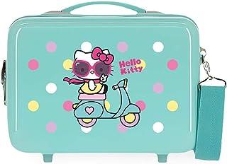 Hello Kitty Castle Nececer Adaptable Azul 29x21x15 cms ABS