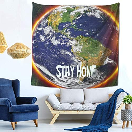 Genthou Coronavirus Tapestry Art Wall Decor for Bedroom Living Room College Dorm 59x59 Inch-207