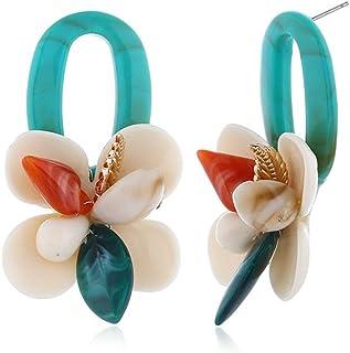 Dangle Earrings Drop Earring!Flower Earrings Jewelry Simple Chic Earrings for Women Girls! Beautiful-Stylish Collection