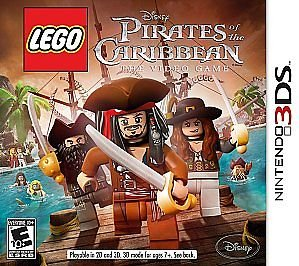 3DS LEGO PIRATES OF CARIBBEAN [video game]