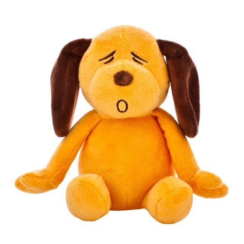 Blueberry Pet Gift Toys for Puppies & Dogs, 6', Gold Orange Sleepy Woof...