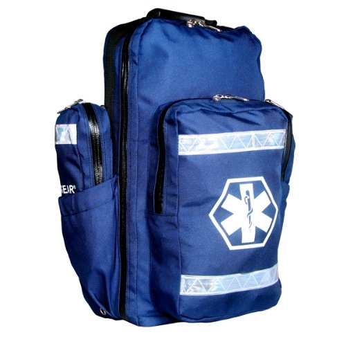 Dixie Ems Ultimate Pro Trauma O2 First Responder Medic Oxygen Backpack Gear Bag-1000 Denier Cordura