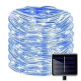 100LED Catena Luminosa Solare,KINGCOO Impermeabile 39ft/12M Stringa Luci Corda Tubo Rame D...