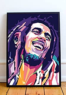 Bob Marley Limited Poster Artwork - Professional Wall Art Merchandise (More (8x10)