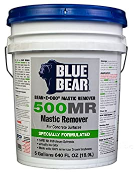 Bean-e-doo Mastic Remover by Franmar Chemical  5 Gallon