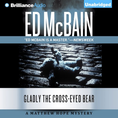 Gladly the Cross-Eyed Bear audiobook cover art