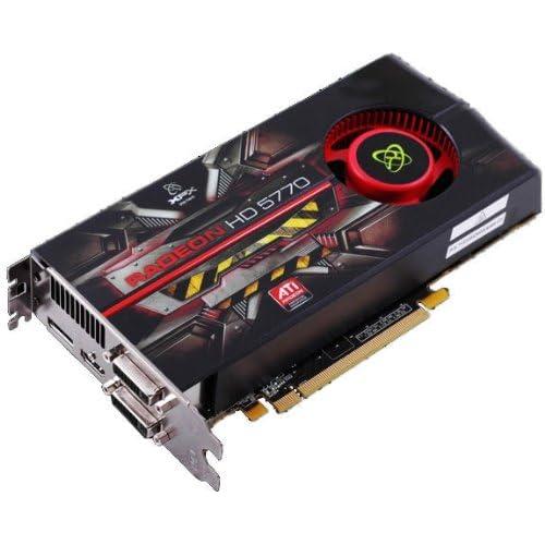 Amazon.com: XFX Radeon HD 5770 1 GB DDR5 PCIE Graphics Card ...