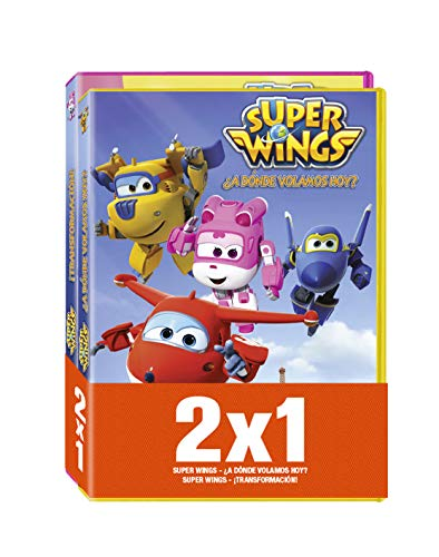 Pack - Super Wings: ¿A Donde Volamos Hoy? / ¡Transformacion! [DVD]