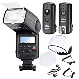 Neewer Kit Speedlite Flash Professionel E-TTL Haute Vitesse Synchro Flash pour CANON...