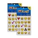 Everything Emoji | 560 Emoticon Stickers | I Love Emoji | Seen On iPhone, Facebook, Instagram, Twitter
