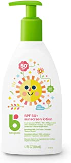 Babyganics Sunscreen Lotion SPF 50, 12oz