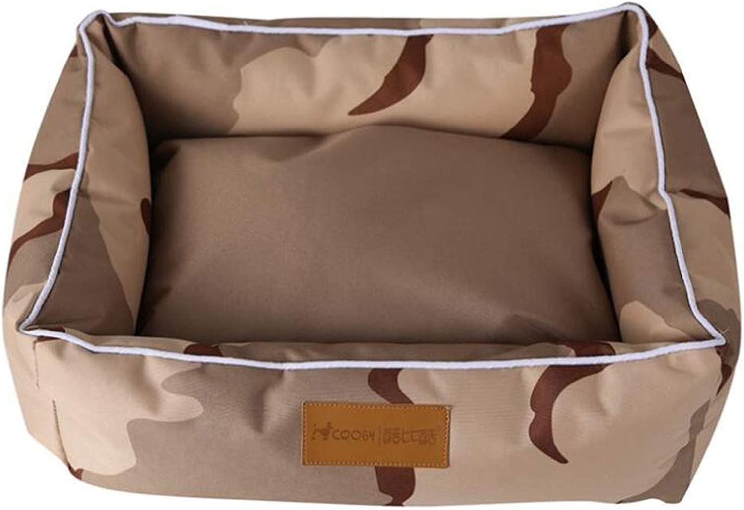 Camouflage Kennel Cat Litter Pet Nest Four Seasons Universal Waterproof Breathable Fashion Durable Dog Sofa Cat Bed,S