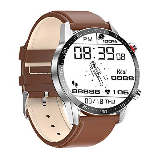 RCH L13 Smart Watch GT05 ECG De Los Hombres + PPG Impermeable Bluetooth Llamada Moda Pulsera Pulsera Presión Arterial Fitness Smartwatch PK L7 para Android iOS,D