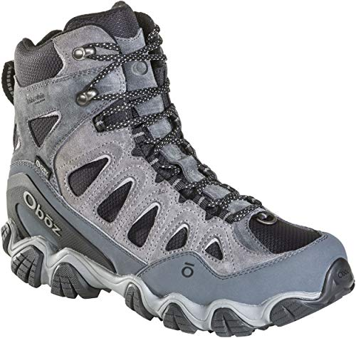 Oboz Sawtooth II 8' Insulated B-Dry Hiking Boot - Men's Grey Size: 12