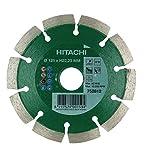 Hikoki tools 752812 - Disco diamante segmentado 125x22,2x10mm material variador