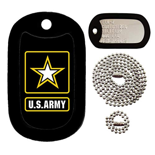 Tag-Z U.S. Army Logo - Customized - Full Set Dog Tags