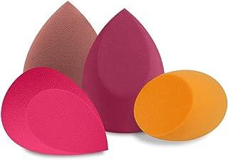 BAIMEI 4Pcs Makeup Sponge Blender Set, Multi-shape Blending Sponges for Dry & Wet Use, Multi-color Foundation, Blush Beaut...
