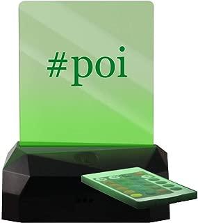 #poi - Hashtag LED Rechargeable USB Edge Lit Sign