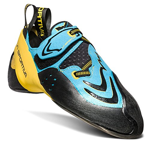 La Sportiva Men's Futura Climbing Shoe, Blue/Yellow, 42