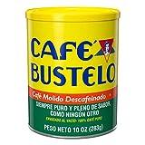 Café Bustelo Coffee Decaffeinated Ground Coffee, 10 Ounces (Pack of 12)