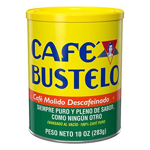 Caf Bustelo Decaffeinated Medium Roast Ground Coffee, 10 Ounces (Pack of 12)