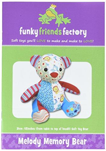 Funky Friends Factory Melody Memory Bear Sewing Pattern
