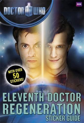 Doctor Who - Eleventh Doctor Regeneration Sticker Guide