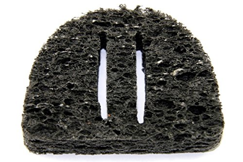 Hakko A1559 Solder Tip Cleaning Sponge with 2 Slits, 2-1 4  x 2  x 1 2