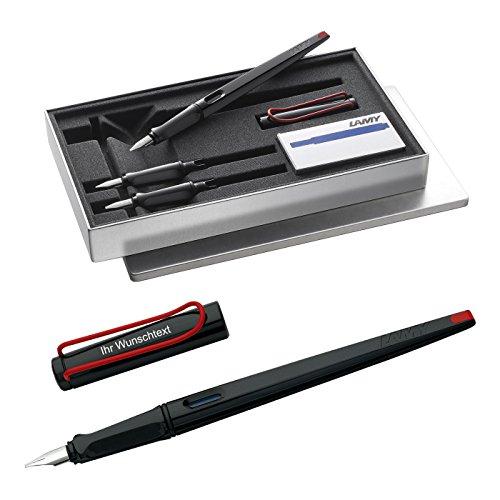 Lamy joy black Schönschreibset Modell 015 inkl. Laser-Gravur