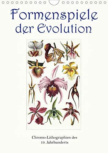 Formenspiele der Evolution. Chromolithographien des 19. Jahrhunderts (Wandkalender 2021 DIN A4 hoch)