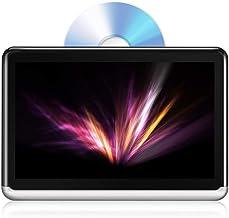 DDAUTO DDA10D Tableta Android 6,0 Reproductor de DVD Portátil Bluetooth 4,0 IPS Pantalla Táctil Monitor para Coche Reposacabezas DVD con Batería Incorporada de 4000mAh Soporte HDMI FM WIFI
