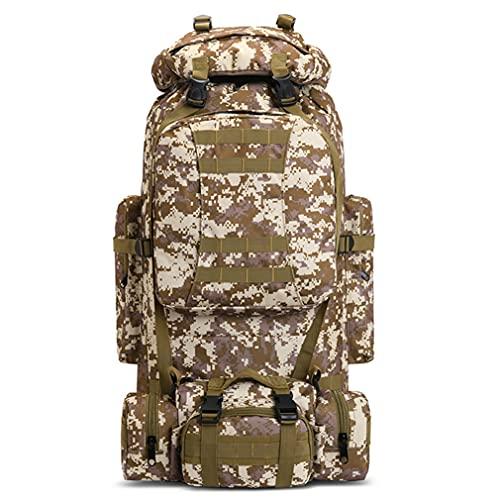 SPAHER 100L Mochila Táctica Militar Camuflaje Molle Assault Pack Mochilas de Marcha