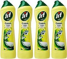Jif Cream Cleaner Lemon, 500ml (Pack of 4)