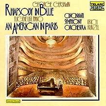 George Gershwin - Rhapsody In Blue - An American In Paris - Cincinnati Symphony Orchestra - Erich Kunzel. Eugene List, Piano.