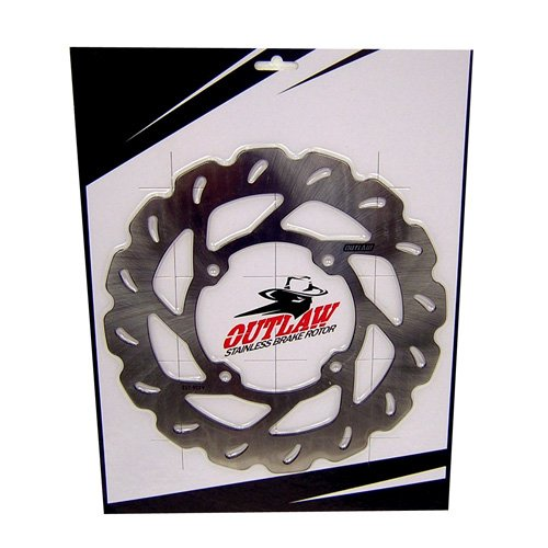 Outlaw Racing AX36037 Front Brake Rotor Disc Disk Compatible with Honda CR125R CR250R CR500R