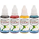 4 Color Custom Body Art Water-Based Airbrush Face and Body Paint Make-Up Kit