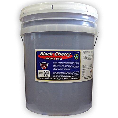 Black Cherry Car Wash Soap with Wax 5 Gallon