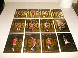 michael jordan gold upper deck jumbo card set