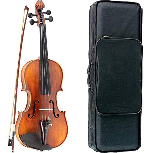 Violino Vivace Strauss 4/4 Fosco Com Case Térmico