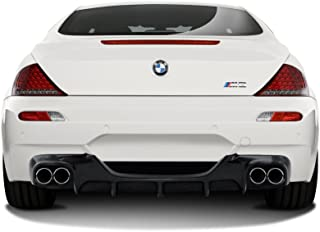 Aero Function Replacement for 2006-2010 BMW M6 E63 E64 Convertible / 2DR Carbon AF-1 Rear Diffuser (CFP) - 1 Piece