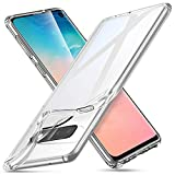 ESR Coque Compatible avec Samsung Galaxy S10, Bumper Etui de Protection Transparent en Silicone TPU...