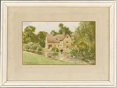 Sulis artistica Arthur Victor coverley-price (1901–1988)–1980acquerelli, Fairford Mill