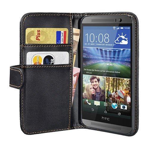 PEDEA Bookstyle Hülle für HTC Desire Eye Tasche, schwarz